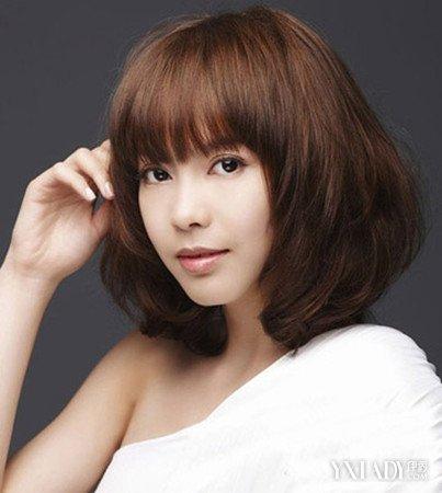 胖脸超短发图片图片减龄修颜萌妹潮女风直发流行发型发型图片