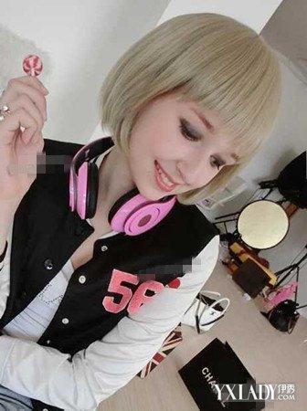 【图】韩版原宿复古头像女生头像打造夏季个超拽头像短发女生a头像短发图片