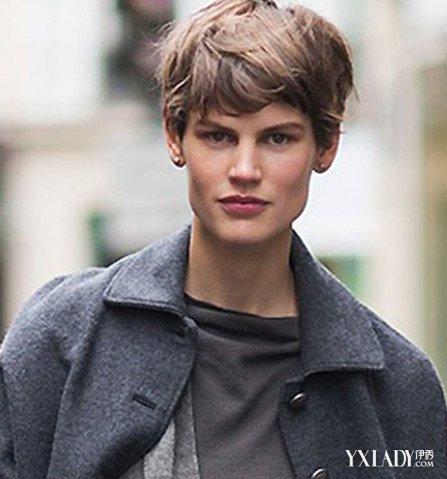 【图】欧美范三七分女生短发发型 (447x479)图片