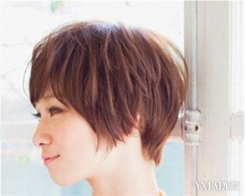 【图】女生斜刘海超短短发发型 4款短发发型任意选