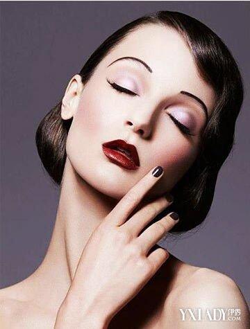 【图】复古欧美美妆图片 带你体会欧式复古的迷人之处