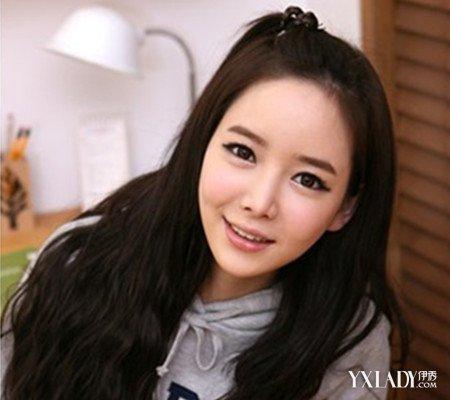 潮短发苹果头发型图片 学习韩式发型打造甜美造型