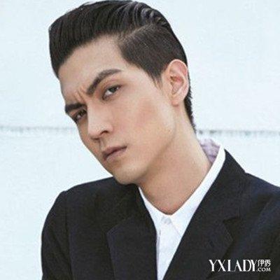 【图】男男士往后梳的发型图片帅气酷爽显时韩系大全中长图片发型头顶图片