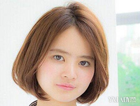 女生短发染色发型图片 推荐新染色短发显个性图片