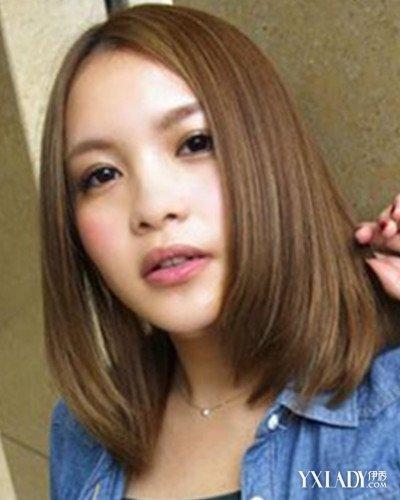 【圖】韓版內扣齊肩短發型中分 清爽變身小臉美女圖片