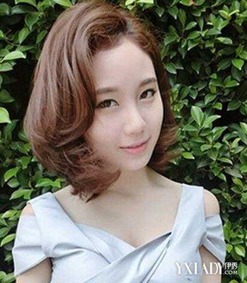 圆脸大脸女生必看发型_发型设计