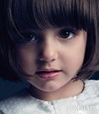 【图】短发公主时尚发型图片 打造可爱萌宝宝