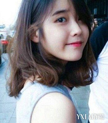 韩潮齐肩短发发型图片 诠释女生甜美气质