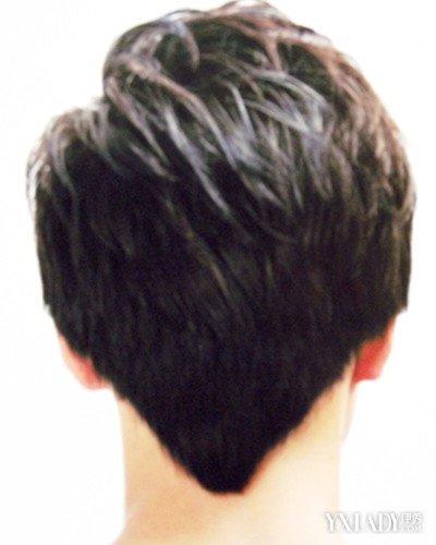 【图】后面倒三角的发型图片 彰显满分帅气感图片