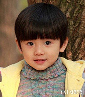 【图】最新男童头发型图片牌子打造可爱萌娃烫发板什么西瓜图片