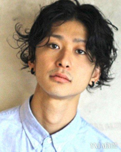 男人脸大头圆的发型盘点 日系短发修颜显脸小图片