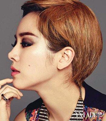 【图】揭不等式发型图片女短发沙宣发型 四种发型张扬 (350x400)图片
