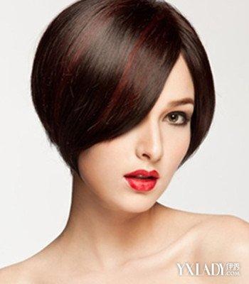 【图】揭不等式发型图片女短发沙宣发型 四种发型张扬