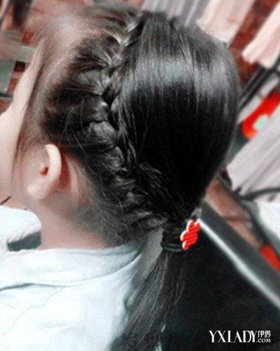 儿童编发中长发推荐 女童必学清凉发型