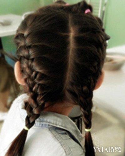 【图】儿童编发中长发推荐 女童必学清凉发型