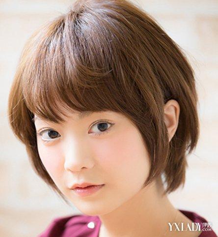 新短发露耳朵发型女 让你清凉整个夏季