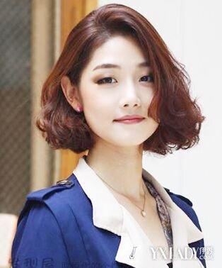 中年女人短发型图片展示 清爽短发发型教你轻松减少年龄图片