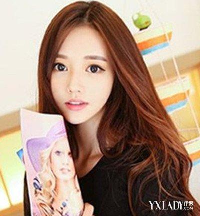 中分韩式卷发发型图片大全 四款发型显魅力图片
