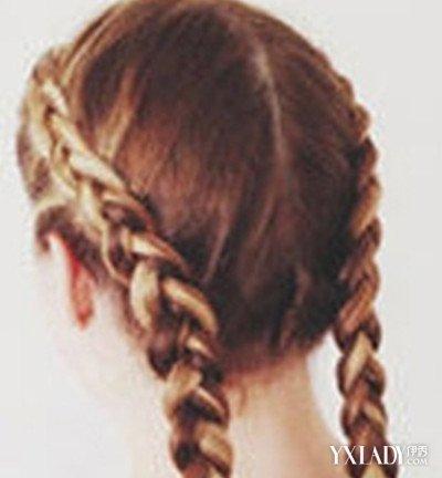 【图】扎蜈蚣型简易辫子头型的图片大全图片