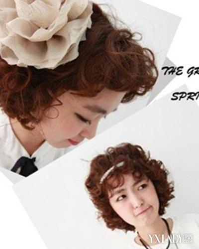 【图】小波浪短发烫发发型 演绎可爱个性女孩图片