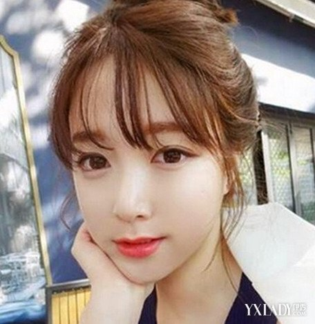 【图】空气刘海学生发型图片 清纯可爱又俏皮图片