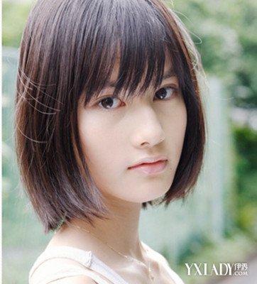 【图】女士短发齐脖子发型图片 打造时尚女生魅力图片