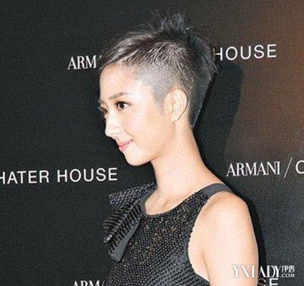 【图】炫酷女生剃头发型图片 个性的鬼剃头发型_女生_图片