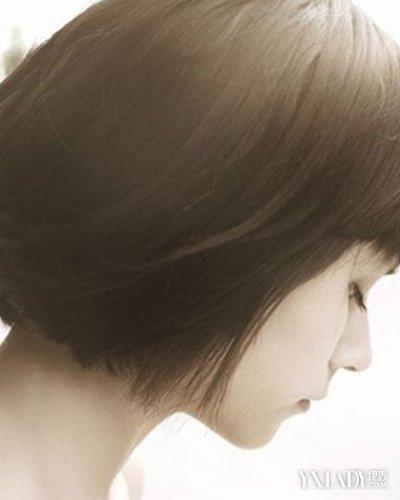 【图】唯美图片女生侧脸短发 清爽时尚气质感十足