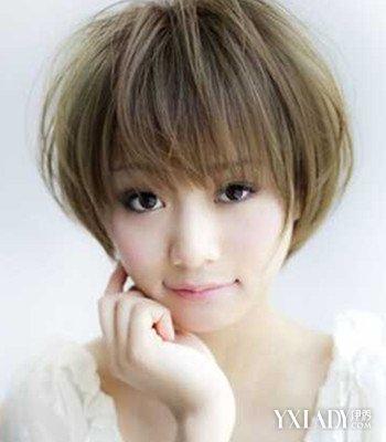 【图】头发少脸大短发发型图片 4款修脸发型任你选图片