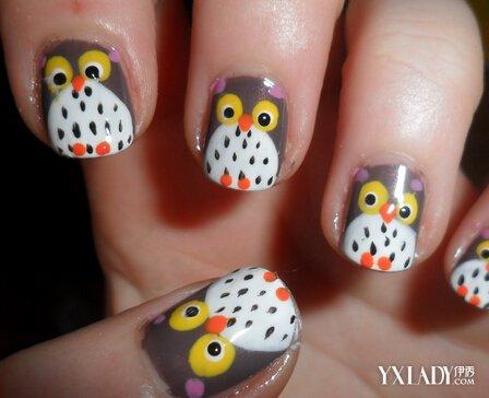 【图】好看的动物指甲照欣赏 3个细节帮你渲染甜美可爱指甲
