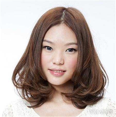 【图】图片中分齐肩发型发型圆脸v图片修颜瘦的头扎短发丸子能图片