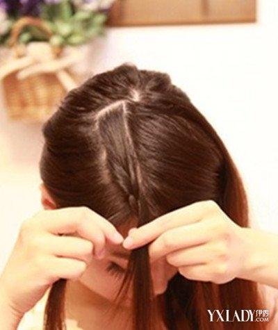 新刘海编头发花样步骤图解 教你打造甜美造型