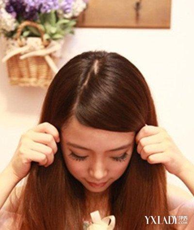 最新刘海编头发花样步骤图解 教你打造甜美造型