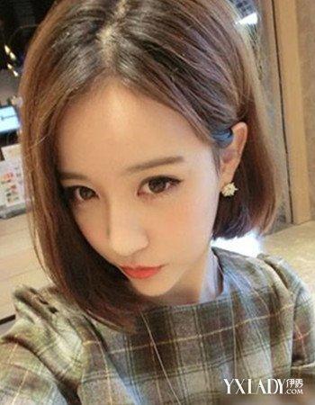 【图】韩范短发内扣图片欣赏 五款美发是打造别致韩范图片