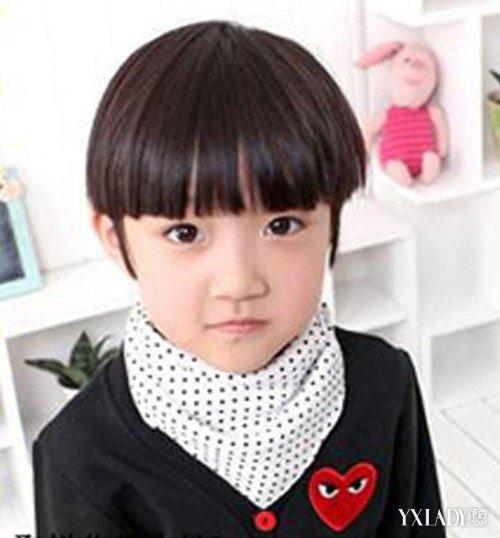 【图】可爱小西瓜发型设计男孩图片头短直发头发多扎发图片