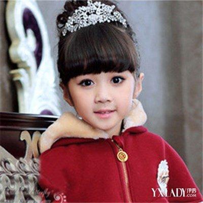 【图】儿童绑头发图解 7款超可爱公主范发型让你的宝宝变身小公主