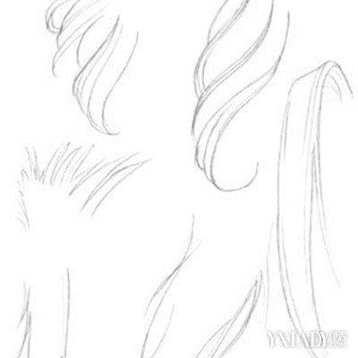 你知道动漫女生发型画法吗 三个步骤让你变大师