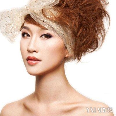 正文  优雅高贵的晚装盘发发型图片 谁说只有长发的mm才适合参加晚宴?图片