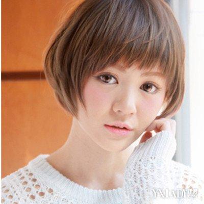 超短锅盖头发型_女生发型图片