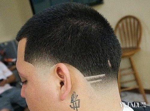 【图】男生圆头刻痕发型图片 时尚刻痕发型展现你的个人魅力图片