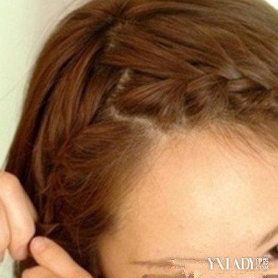 女生短发编辫子发型 6个步骤让你学会编辫子