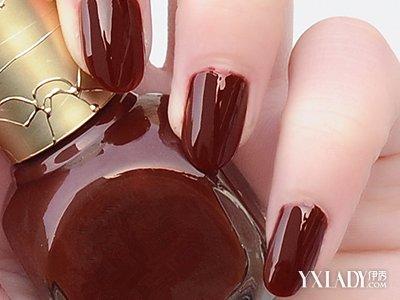 【图】枣红色指甲油图片