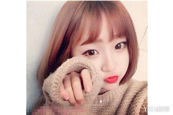 【图】韩式染发短发胎儿女款齐肩热荐4款好看介绍烫发对发型的v短发吗图片