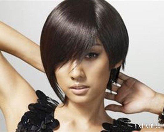 女生短发发型一长一短图片 几种发型彰显你独特的个人魅力图片