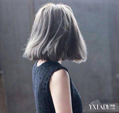 【图】短发女生霸气背影照