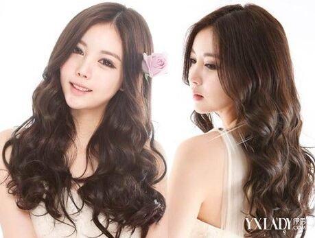 【图】韩式胖女孩披肩发型图片