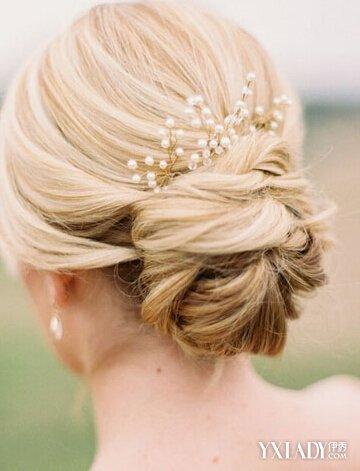 【图】盘点各种韩式结婚盘头发型 让你做一个美丽动人