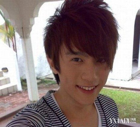 男生弧形半圆刘海图片 四款发型时尚又个性帅气