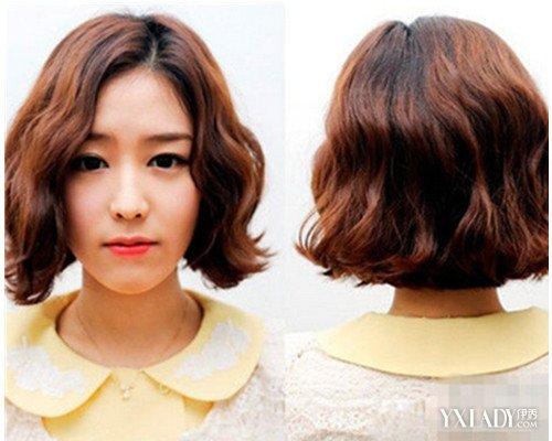 【图】韩式中长发外卷发型