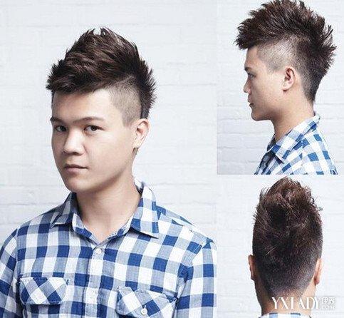 【图】时下最流行男士短发型侧面剃短图 3款发型有木有让你心动